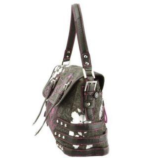 Ed Hardy Judy Messenger Bag Black