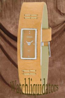 New Jules Jurgensen À Propos Ladies Casual Brown Leather Band Watch