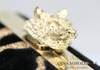 Gold Leopard Animal Print Suede Velvet Sparkle Shoulderhand Evening