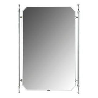 "Quoizel Elite Polished Chrome 34"" High Wall Mirror   #91304"