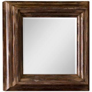 "Uttermost Mango Wood 30"" High Wall Mirror   #P7432"