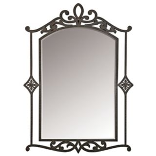 """La Parra Collection Hand Forged 40"""" High Wall Mirror   #91812"""