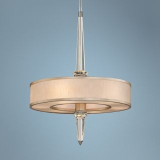 "Corbett Harlow 35 3/4"" High Crystal Column Pendant Light   #X6169"