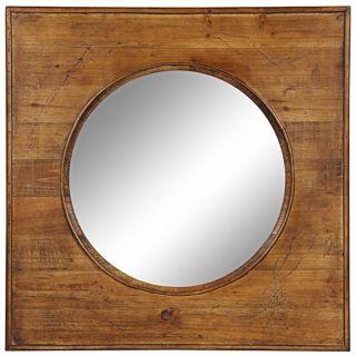 """Cooper Classics Thorton 29 1/2"""" Square Wall Mirror   #X7042"""