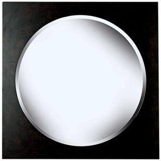 "Lunar Harvest Dark Walnut 34"" High Wall Mirror   #T5036"