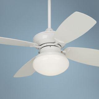 "36"" Outlook White Ceiling Fan with Light Kit   #M2744"