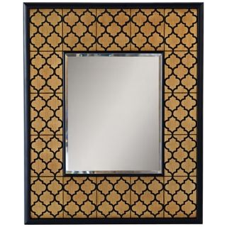 "Port 68 Parker 37"" High Gold Leaf Wall Mirror   #X6815"