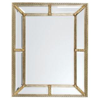 """Uttermost Silver Leaf 49"""" High Wall Mirror   #09089"""