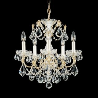 "Schonbek Century Collection 17"" Wide Crystal Chandelier   #N1068"