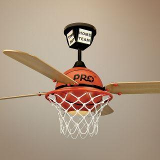 "52"" Craftmade Pro Star Basketball Ceiling Fan   #J2031"