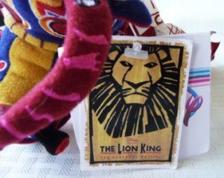 Stuffed Plush Animal Disney Lion King Broadway Musical