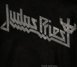 Judas Priest Logo Heavy Metal Hard Rock T Shirt M XL NWT