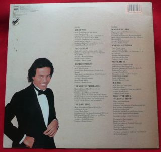 Julio Iglesias LP 1100 Bel Air Place Vinyl Record Latin