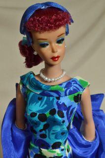 OOAK 5 Ponytail Vintage 1961 Barbie Doll by Juliaoriginals Titian
