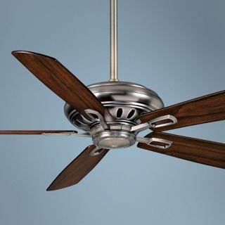 "60"" Casablanca Holliston Nickel Energy Star DC Ceiling Fan   #T2742"