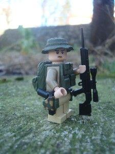 Custom Lego Minifig U s Junger Spec Ops Scout RARE