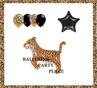 Safari Party Birthday Baby Shower Decorations Supplies Jungle Balloons