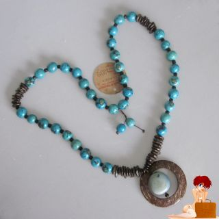 New Authentic Handmade Tucuma Artesanato Seed Bead Necklace