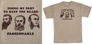 Shirt Funny Fear Biker Moustache The Vintage Tee Retro Cool Shirt
