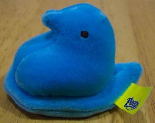 Just Born Peeps Blue Chick Peep 2 Plush Stuffed Animal