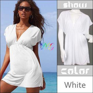 Party Lady Sexy Swimwear Nylon Bikini Cover Up Shirt Dress