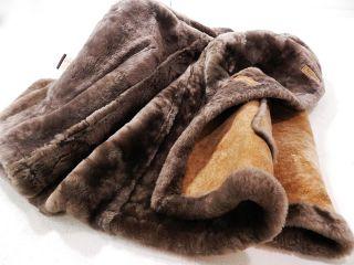Womens Sheepskin Ranch Coat Lambskin Fur Shearling Made in USA by
