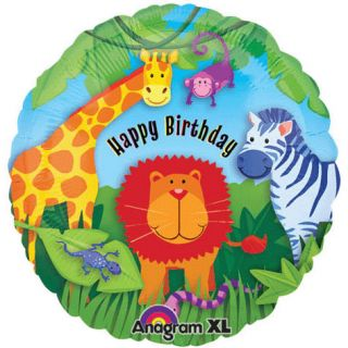 Kids Birthday Party Supplies Jungle Animals Theme