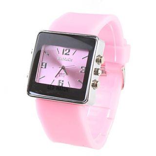 moda menina mulheres relógio de pulso rosa pink pulseira discagem