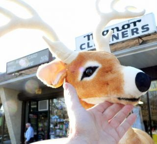 Giant 31 Stuffed Deer Big Plush Large Realistic Toy