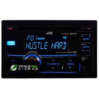 JVC KW R800BT in Dash Am FM CD Car Stereo Receiver with Bluetooth USB
