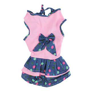 EUR € 11.95   robe de style denim pour les chiens (XS XL, rose