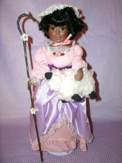 Storytime Collectible Doll Avon 1st in Series Bo Peep