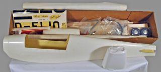 Vinage Krick 1 6 Bucker BU 180 Suden R C Wood Model Airplane Ki