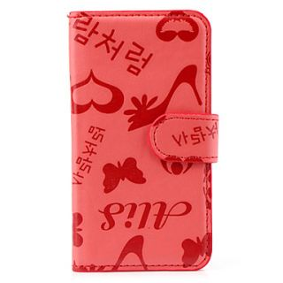 USD $ 5.99   Butterfly Patterned Full Body PU Leather Case Cover for