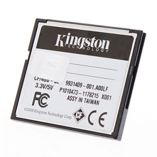 $ 13.19   4GB Kingston Elite Pro 133X Compact Flash CF Memory Card