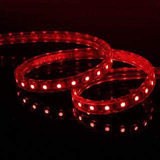USD $ 48.99   Waterproof 1M 6W 30x5050 SMD Red Light LED Strip Lamp
