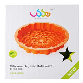 USD $ 17.99   DIY Bakeware Wave Pattern Silicone Cake Mold,