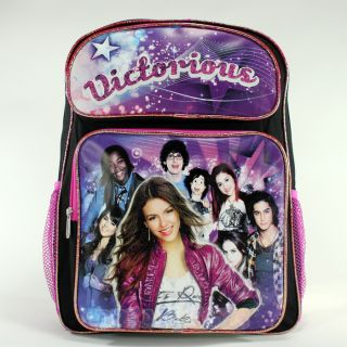 Victorious Victoria Justice and Friends Large 16 Backpack   Bag Tori