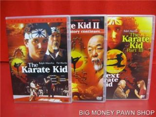 DVD Video The Karate Kid Collection 3 Set DVD Collection