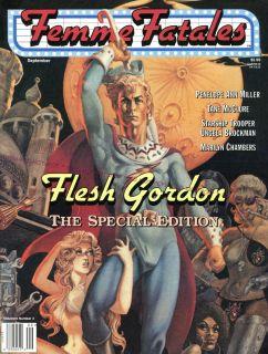 Lot 2 Magazines Aug Sept 1997 Flesh Gordon Star Trek M Chambers