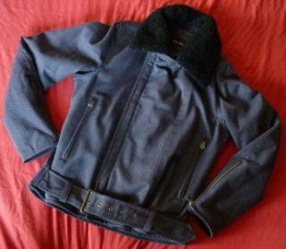 RARE Issey Miyake Mens Double Rider Militaly Blouson Jacket 2 s Navy