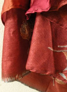 Vintage Silk Magic 34 Length Long Wrap Skirt Halter Tube Maxi Dress