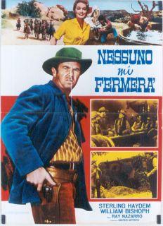 EH85 Top Gun Sterling Hayden RARE Italian 1sh Poster