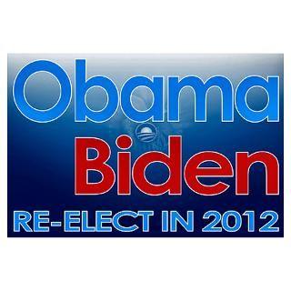 Wall Art  Posters  Obama Biden 2012 Poster