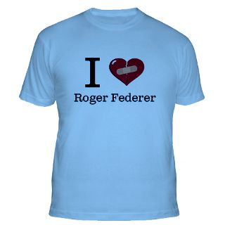 Love Roger Federer T Shirts  I Love Roger Federer Shirts & Tees