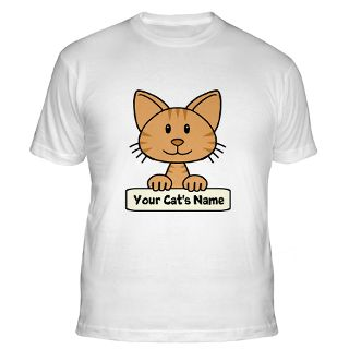Cat Gifts  Cat T shirts  Personalized Cat Shirt