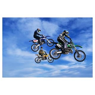 Wall Art  Posters  Motocross Jump Poster