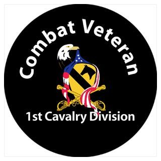 Wall Art  Posters  1st Cavalry Division Combat V
