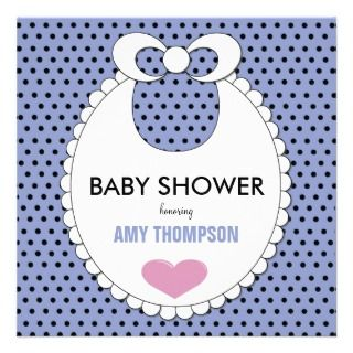 diaper pin co ed baby shower invitation