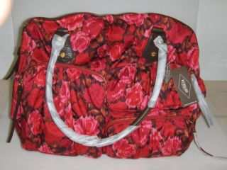 MZ Wallace Kate Diaper Bag in Rose Print New